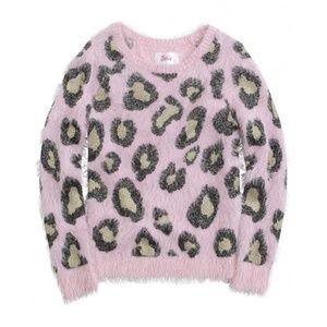 Justice Cheetah Sweater